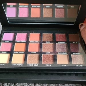 KAB Cosmetics Day and Night Pallet